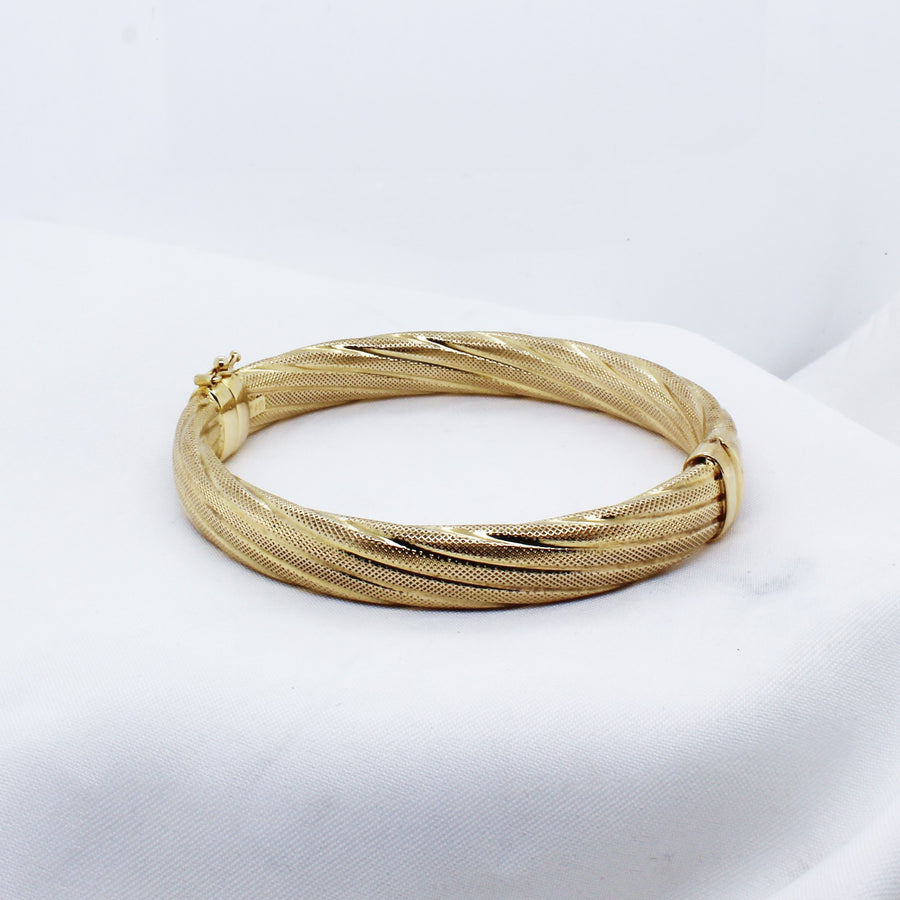 EGS - 9K Yellow Gold Fancy Bracelet - The French Door Jewellers