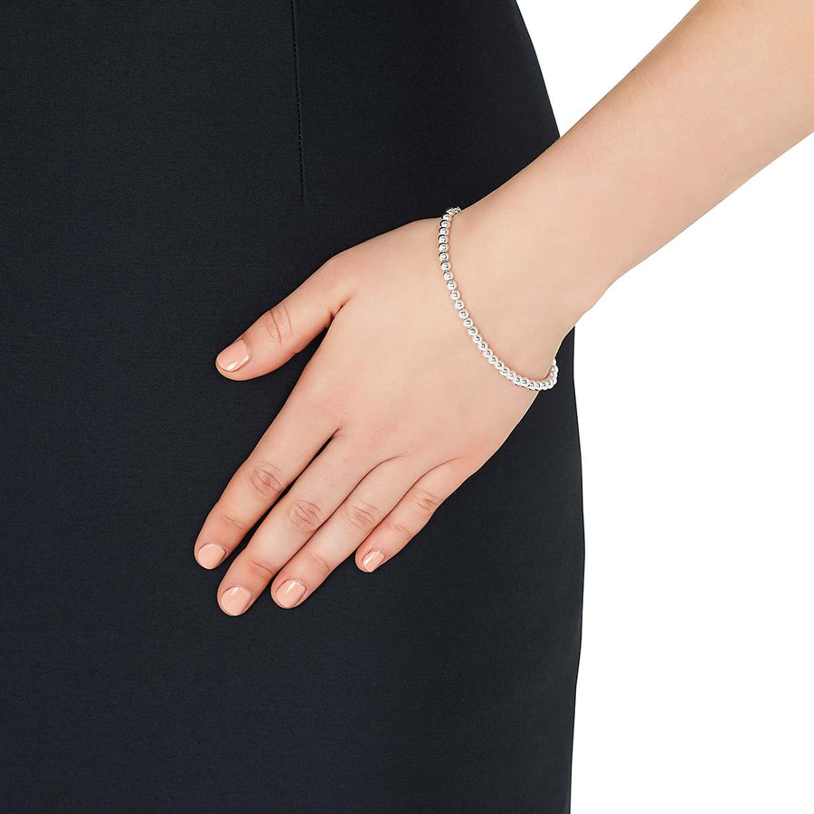 Najo Silver Orbs Bracelet - The French Door Jewellers