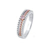 Argyle MIirikel Ring - 18K Rose & White Gold - The French Door Jewellers