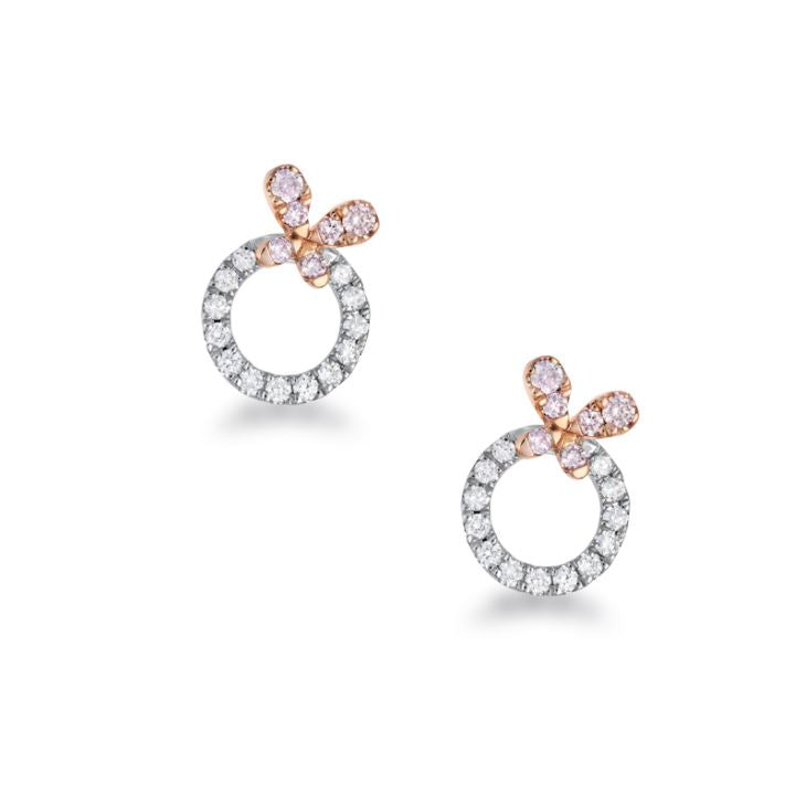 Blush Petali Earrings - The French Door Jewellers