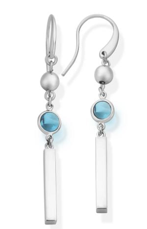 Clara Blue Topaz Earrings - The French Door Jewellers
