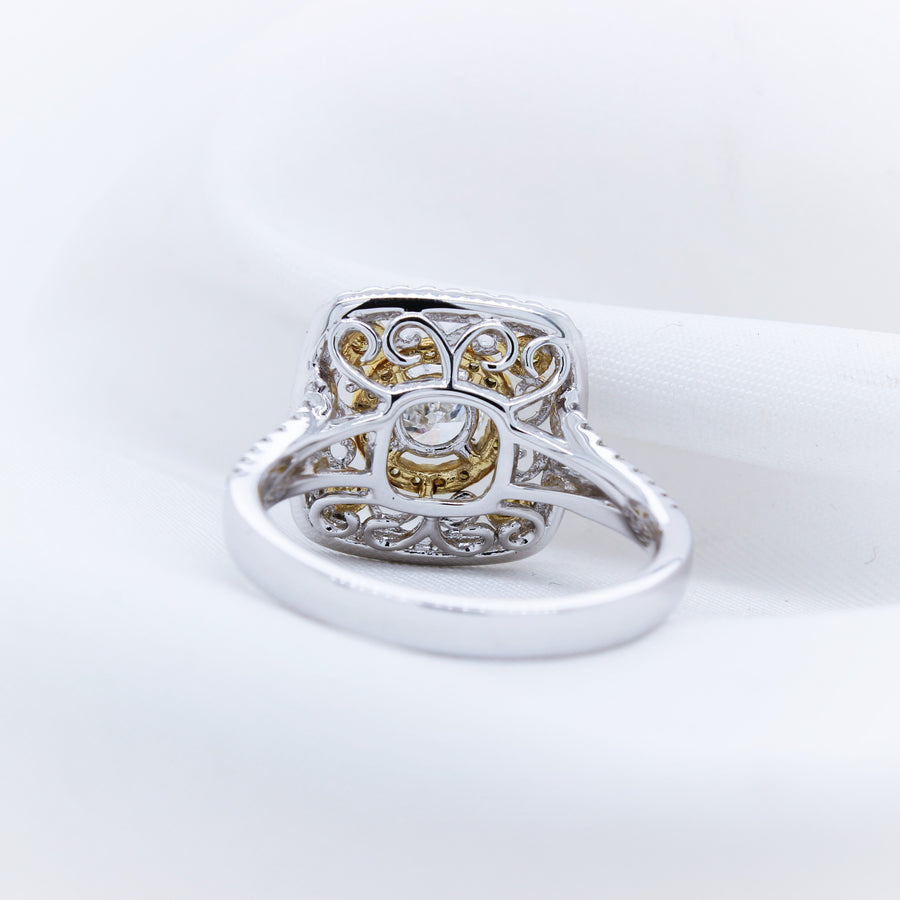 18K White Gold Diamond Ring - The French Door Jewellers
