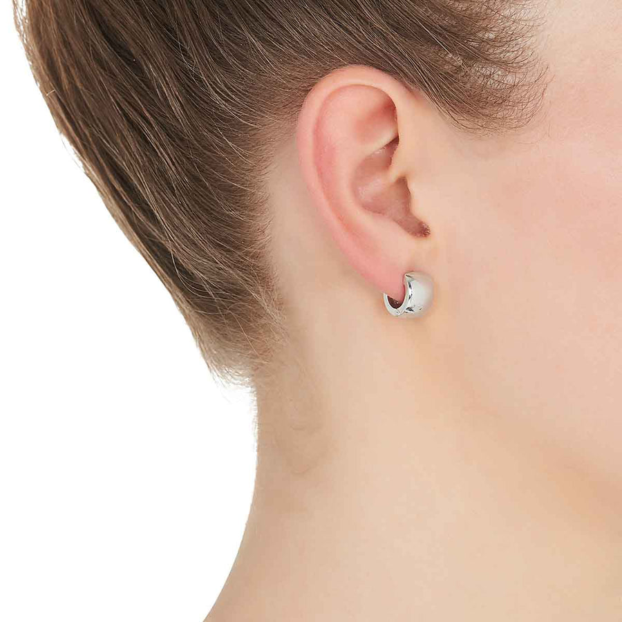 Najo Fresh Face Huggie Earring - The French Door Jewellers