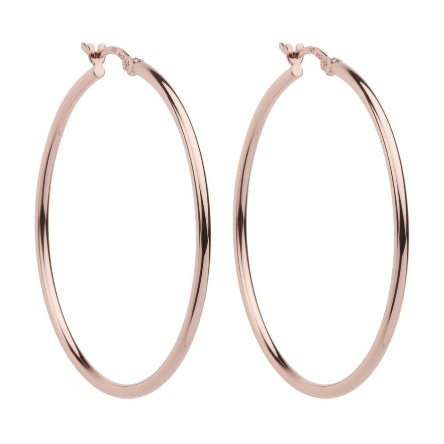 Najo Simple Hoop 2x45mm (Rose) - The French Door Jewellers