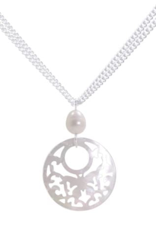 Mere White Necklace - The French Door Jewellers