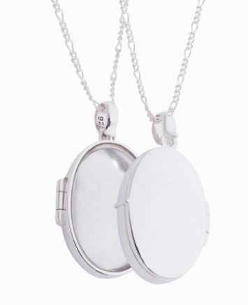 Tresor Classic Locket Necklace - The French Door Jewellers