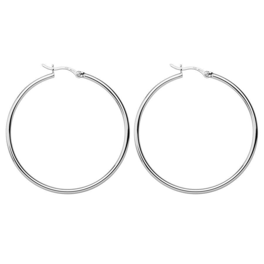 Najo Simple Hoop 2x45mm - The French Door Jewellers
