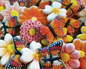 1000 piece Butterfly Cookies