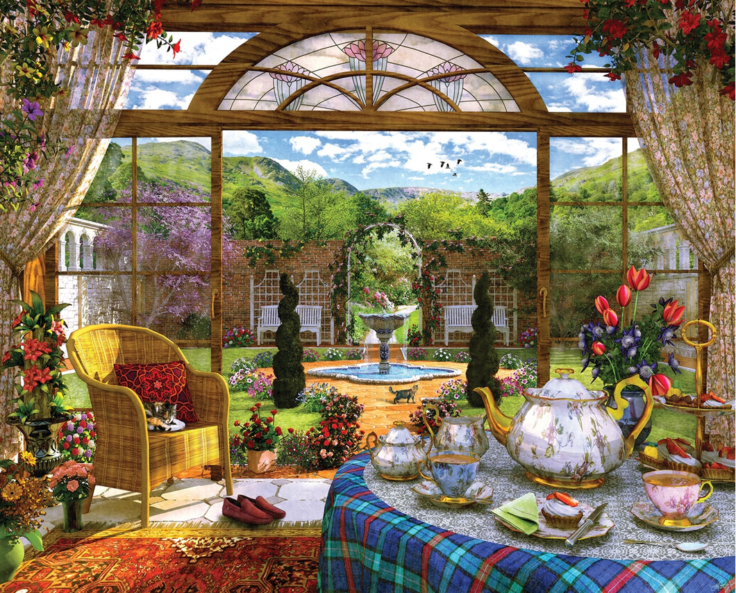 1000 piece The Conservatory