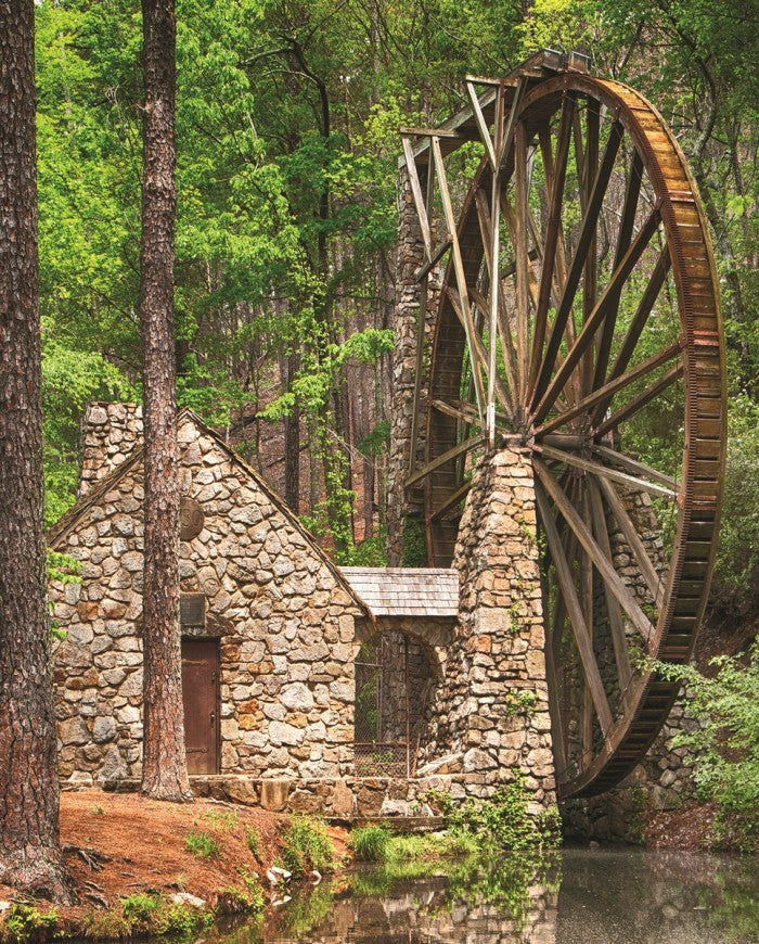 1000 piece Water Wheel