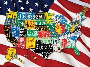400 piece Puzzle State Plates