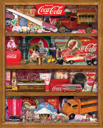 500 piece A Collection Coca-Cola
