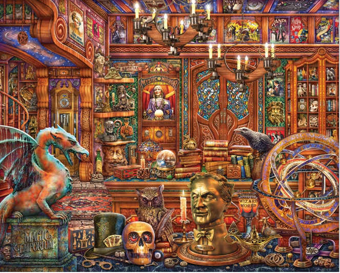 500 piece Magic Emporium