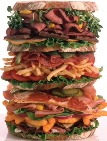 500 piece Snack Stack