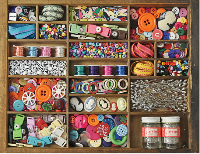 500 piece The Sewing Box