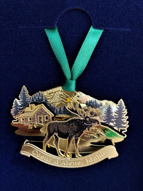 Ornament:  Mountain Moose Collage