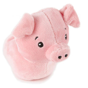 Zip-Along Pig Stuffed Animal