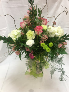 FLOWERS - Spring Arrangements - You choose price range for a mixed floral arrangement