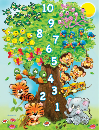 36 piece Counting Tree
