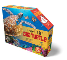 Load image into Gallery viewer, 100 piece Madd Capp Puzzle Jr.: I AM Lil SEA TURTLE
