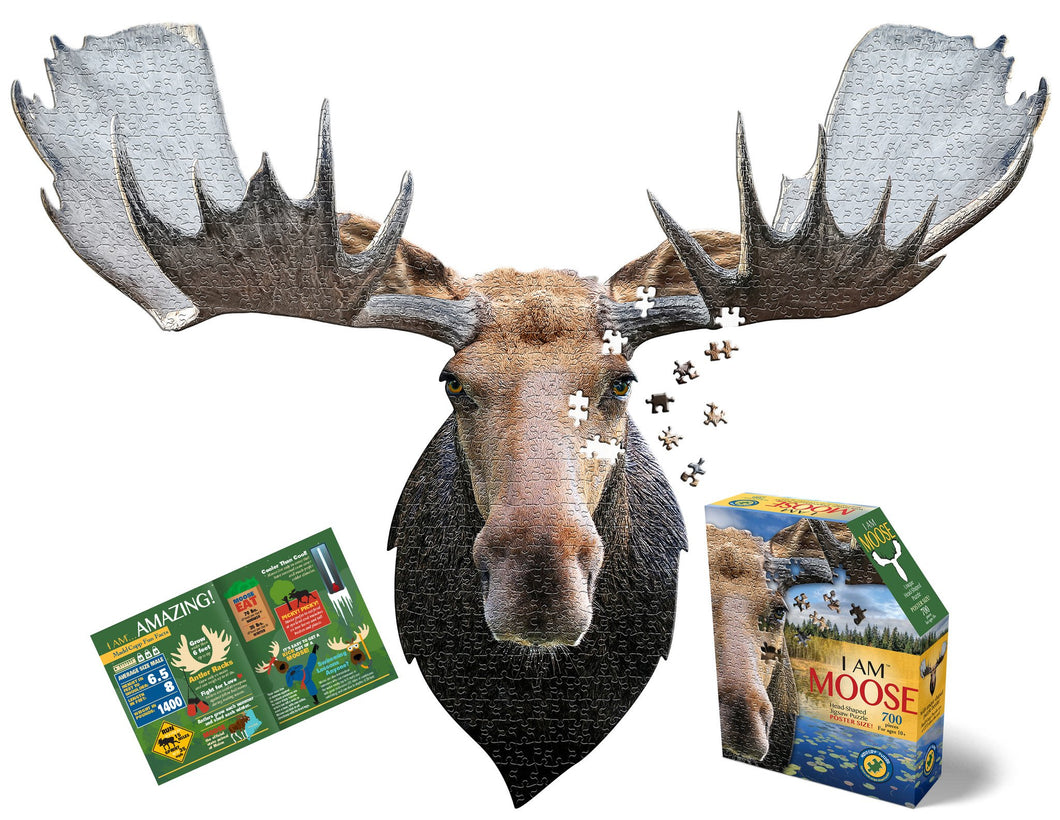 700 piece Madd Capp Puzzle: I AM Moose