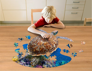 100 piece Madd Capp Puzzle Jr.: I AM Lil SEA TURTLE