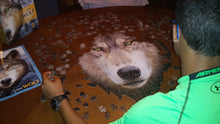 Load image into Gallery viewer, 550 piece Madd Capp Puzzle: I AM Wolf