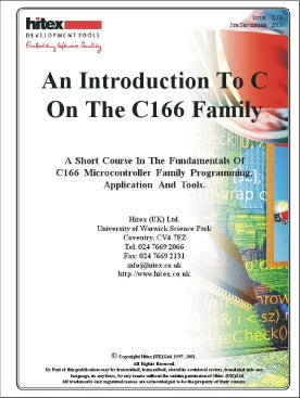 "C16x Primer ""C16x Family Programming Guide"""