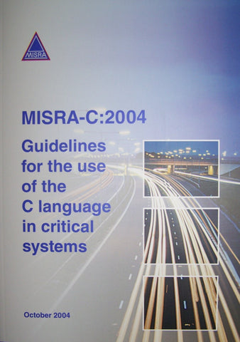 MISRA-C Guidelines (October 2004)