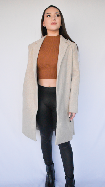 NEW YORK KNEE LENGTH COAT