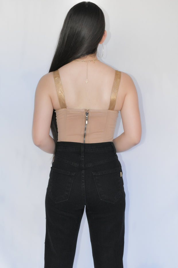 IT'S COMPLICATED MESH CORSET