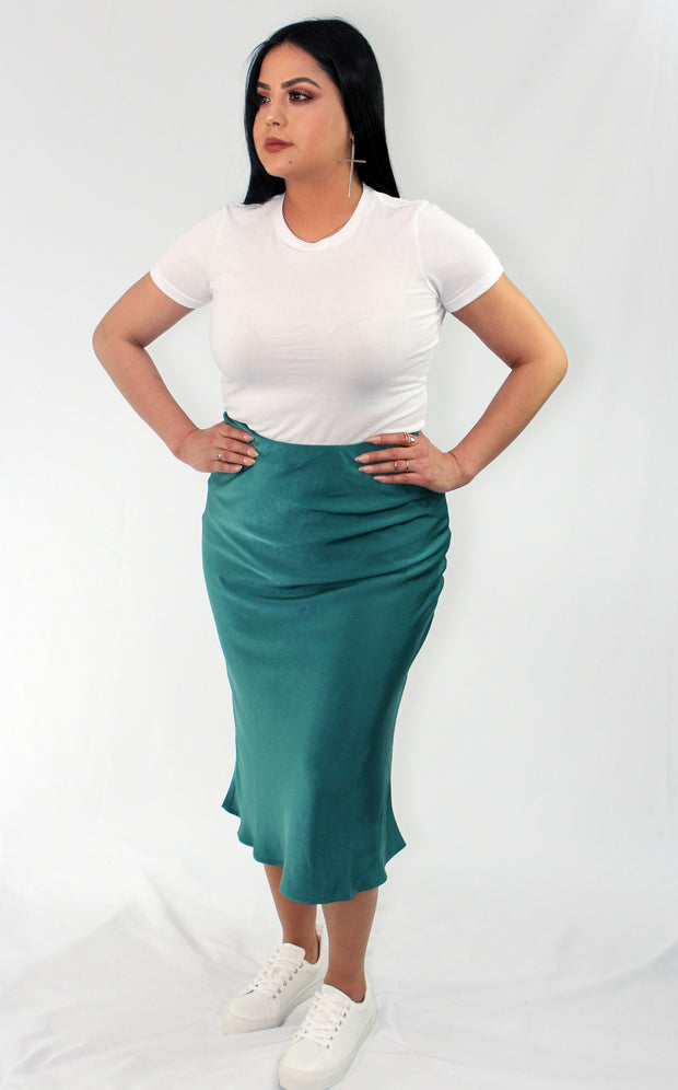 WHAT A GEM! MIDI SKIRT - Nouveau Marketplace