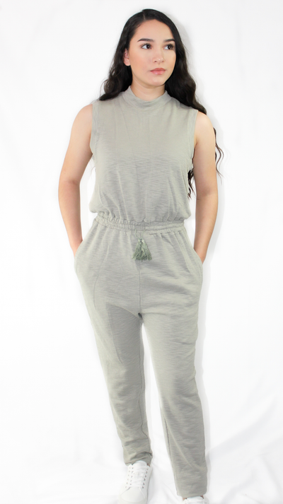 KATE MOCK NECK JUMPSUIT - Nouveau Marketplace
