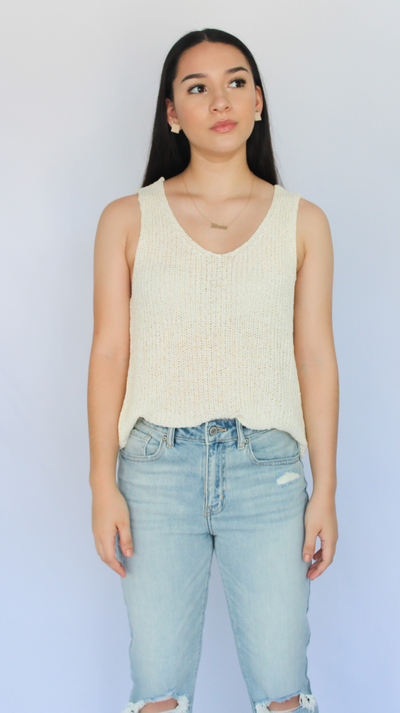 CLEO KNITTED TANK - Nouveau Marketplace