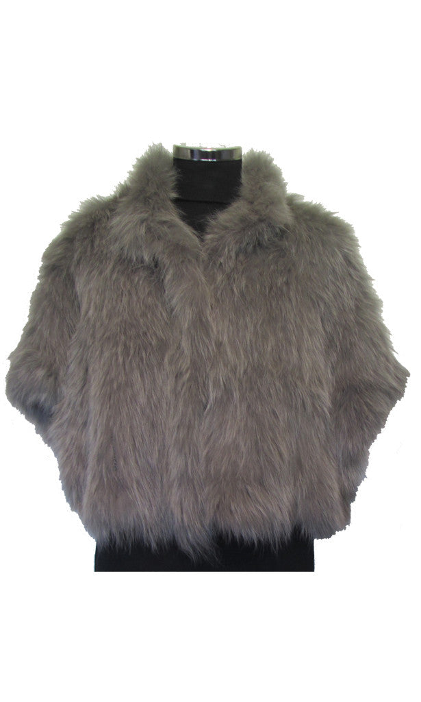 Bolero style fox jacket Marie-S and COZI
