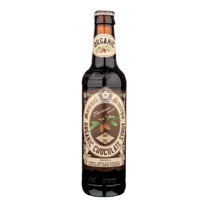 SAMUEL SMITH ORGANIC CHOCOLATE STOUT 355 ml - CebadaMalteada