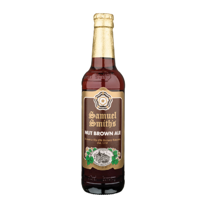 SAMUEL SMITH NUT BROWN ALE 355 ml - CebadaMalteada