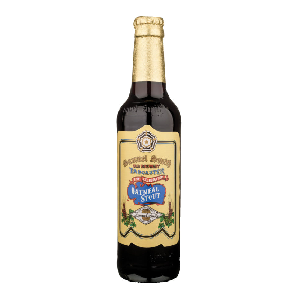 SAMUEL SMITH OATMEAL STOUT 355 ml - CebadaMalteada