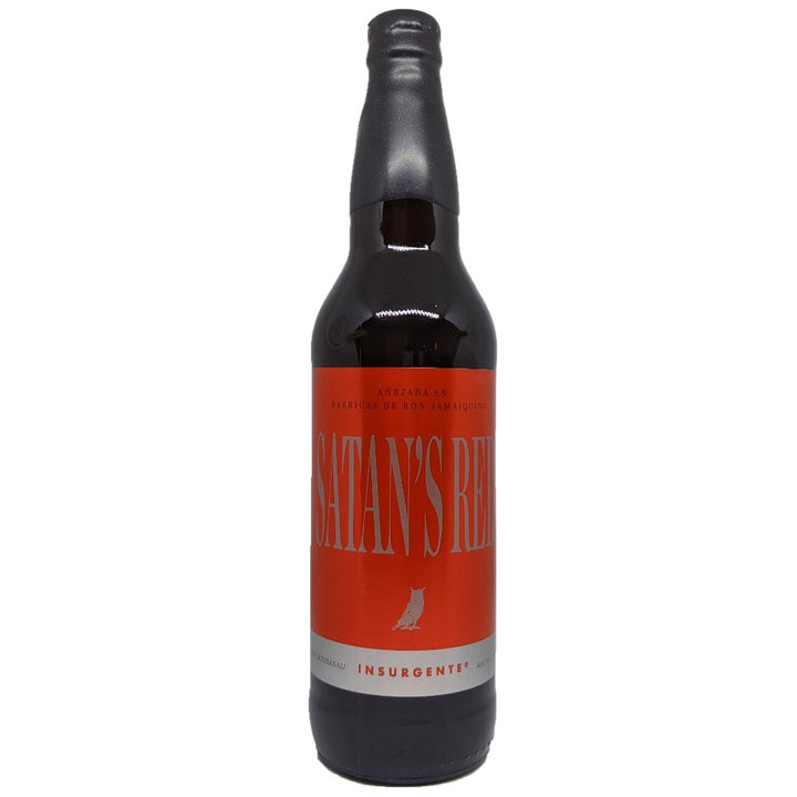 INSURGENTE SATAN'S RED BARREL AGED 650 ml - CebadaMalteada