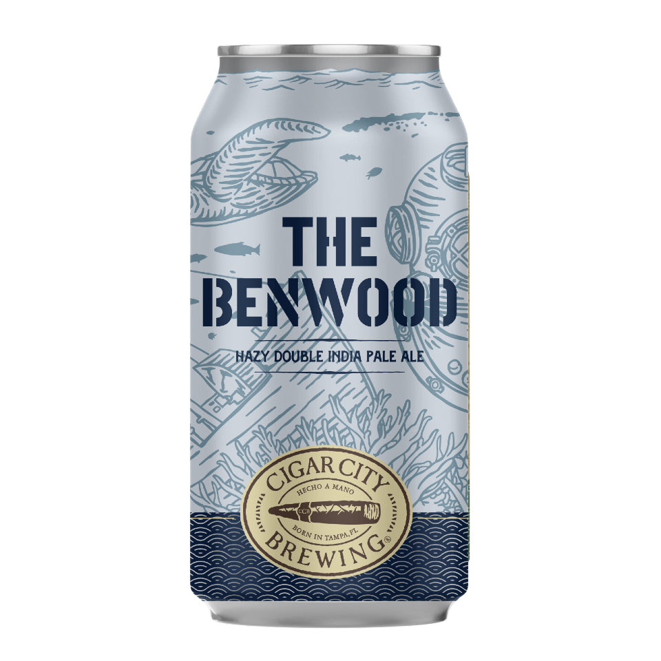 CIGAR CITY THE BENWOOD (LATA) - CebadaMalteada