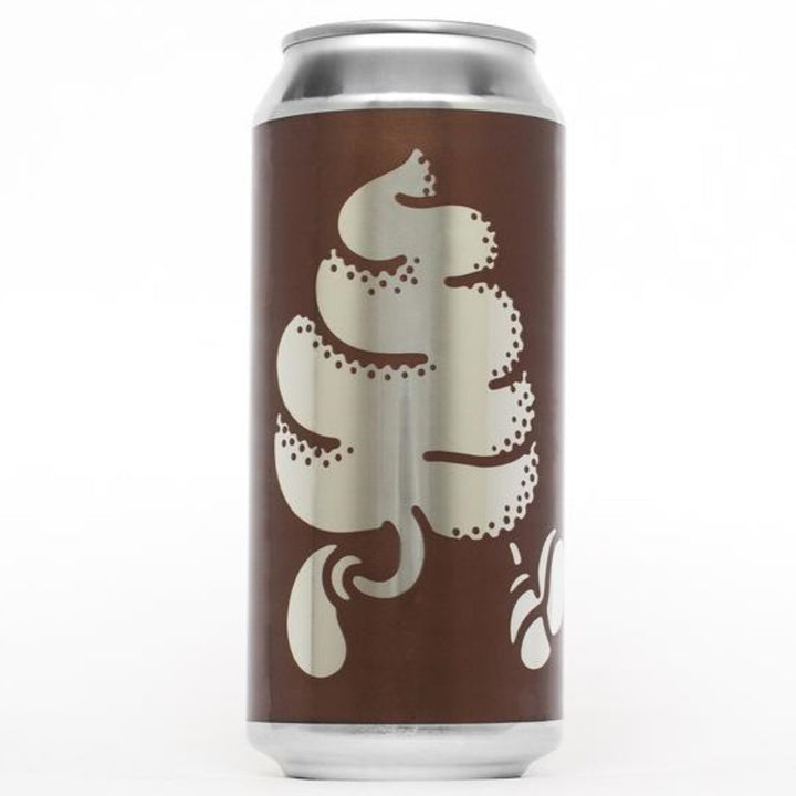 OMNIPOLLO ORIGINAL CHOCOLATE ICE CREAM BROWN ALE (LATA) - CebadaMalteada
