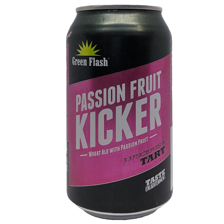 GREEN FLASH PASSION FRUIT KICKER 12oz (LATA) - CebadaMalteada
