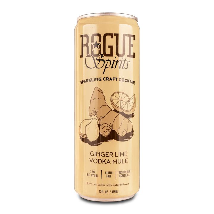 ROGUE GINGER LIME VODKA MULE 12oz - CebadaMalteada