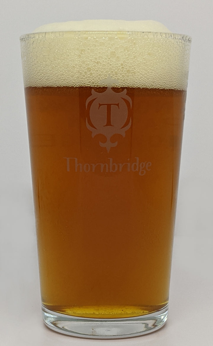 VASO THORNBRIDGE HALF PINT GLASS - CebadaMalteada