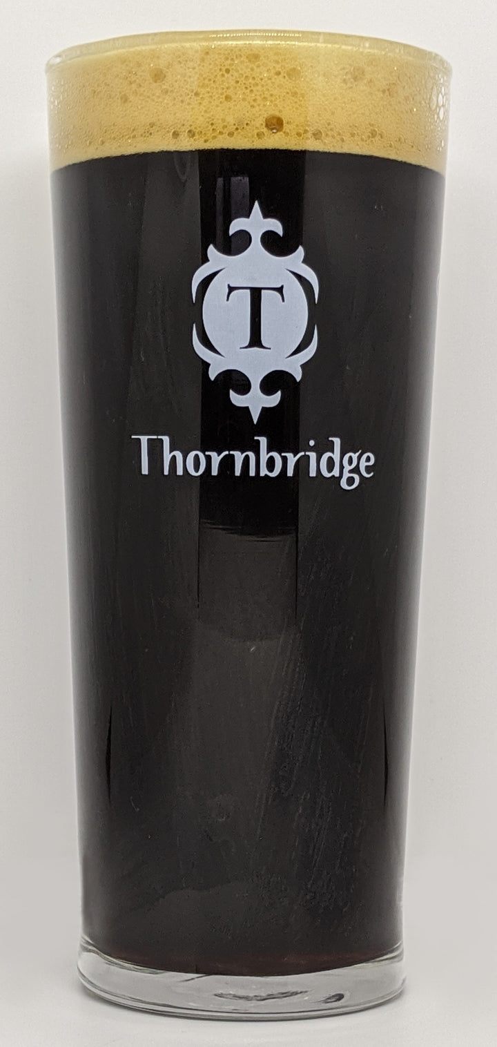 VASO THORNBRIDGE TUMBLER PINT GLASS - CebadaMalteada