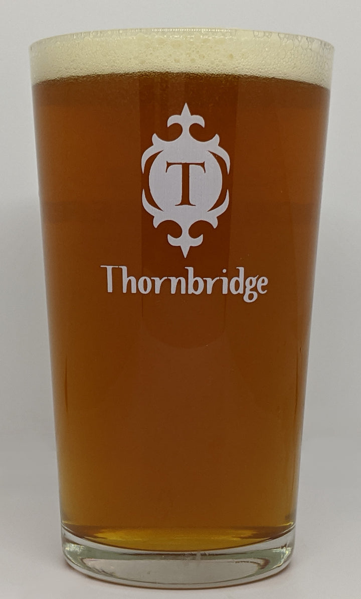 VASO THORNBRIDGE PINT GLASS - CebadaMalteada