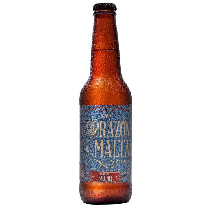 CORAZÓN DE MALTA ENGLISH PALE ALE 355 ml - CebadaMalteada