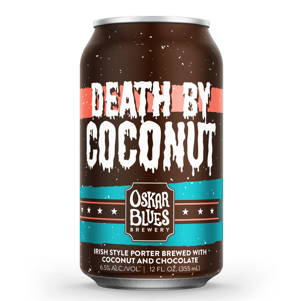 OSKAR BLUES DEATH BY COCONUT (LATA) - CebadaMalteada