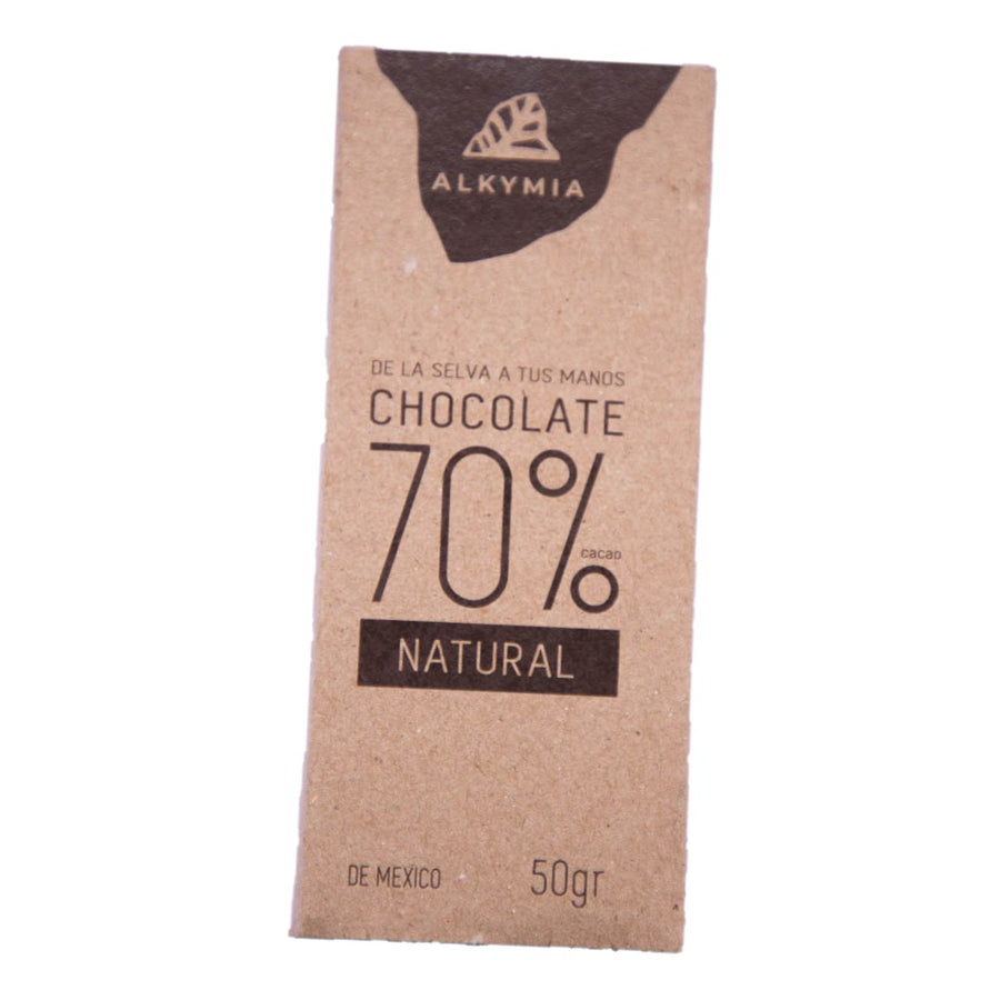 BARRA DE CACAO ALKYMIA NATURAL 50 g