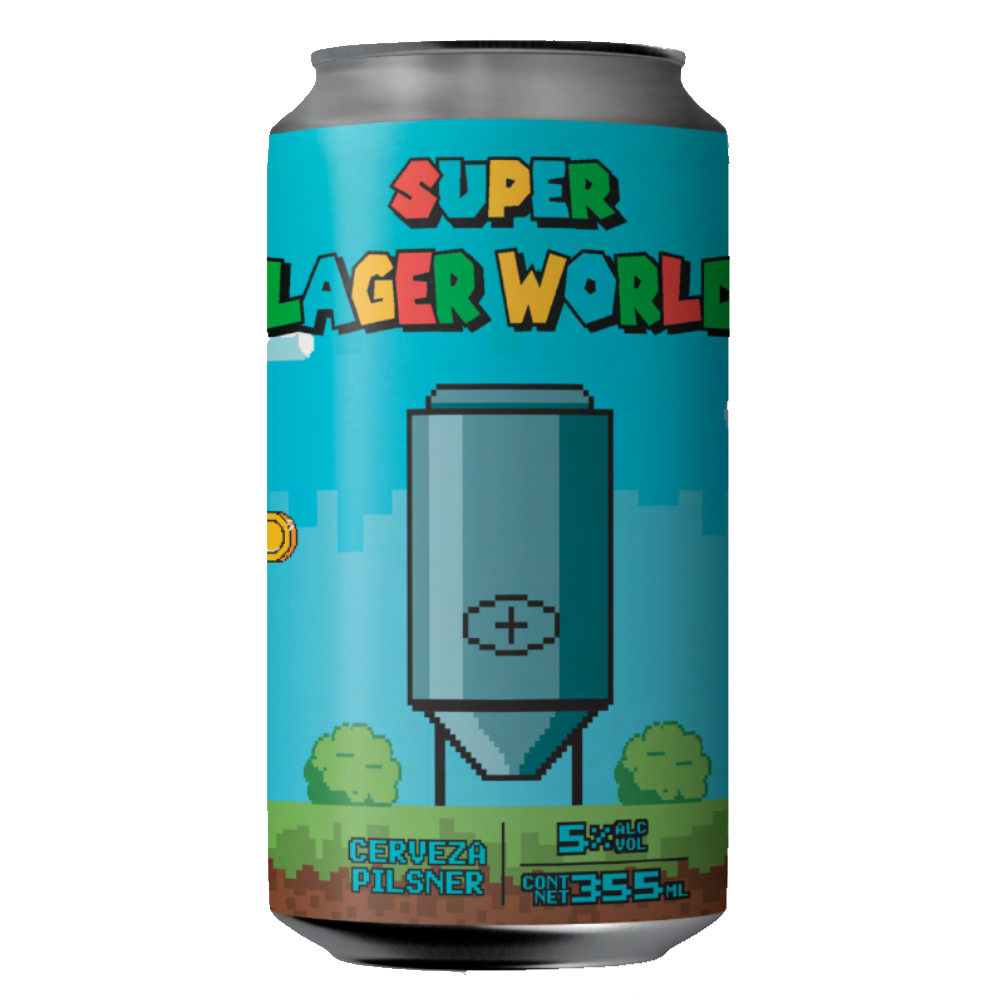 FALLING PIANO SUPER LAGER WORLD (LATA) - CebadaMalteada